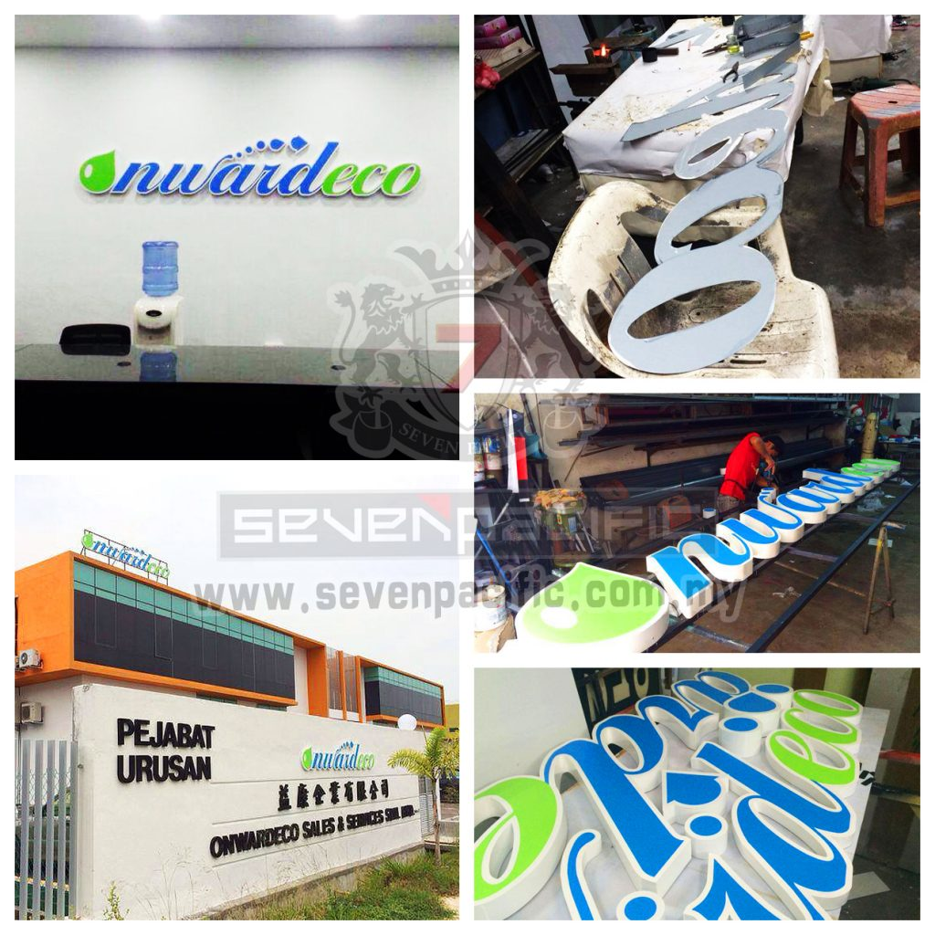 3D Box Up Sign_Factory