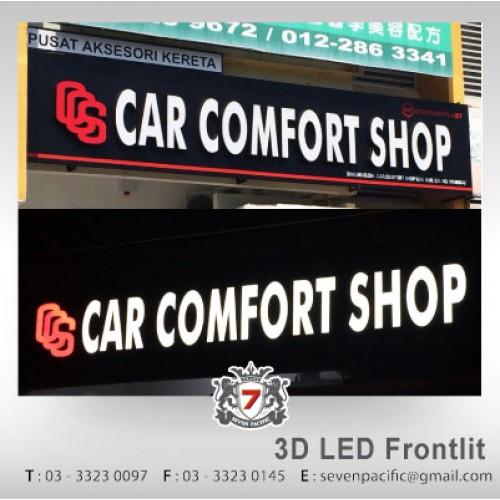 3D LED Frontlit Sign