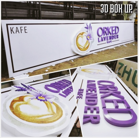 3D Outdoor Sign_Cafe