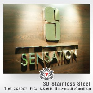 3D Stainless Steel