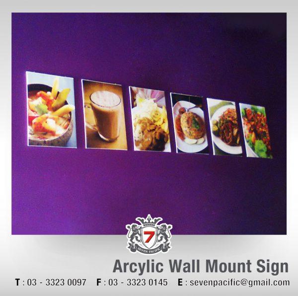Acrylic Wall Mount Sign