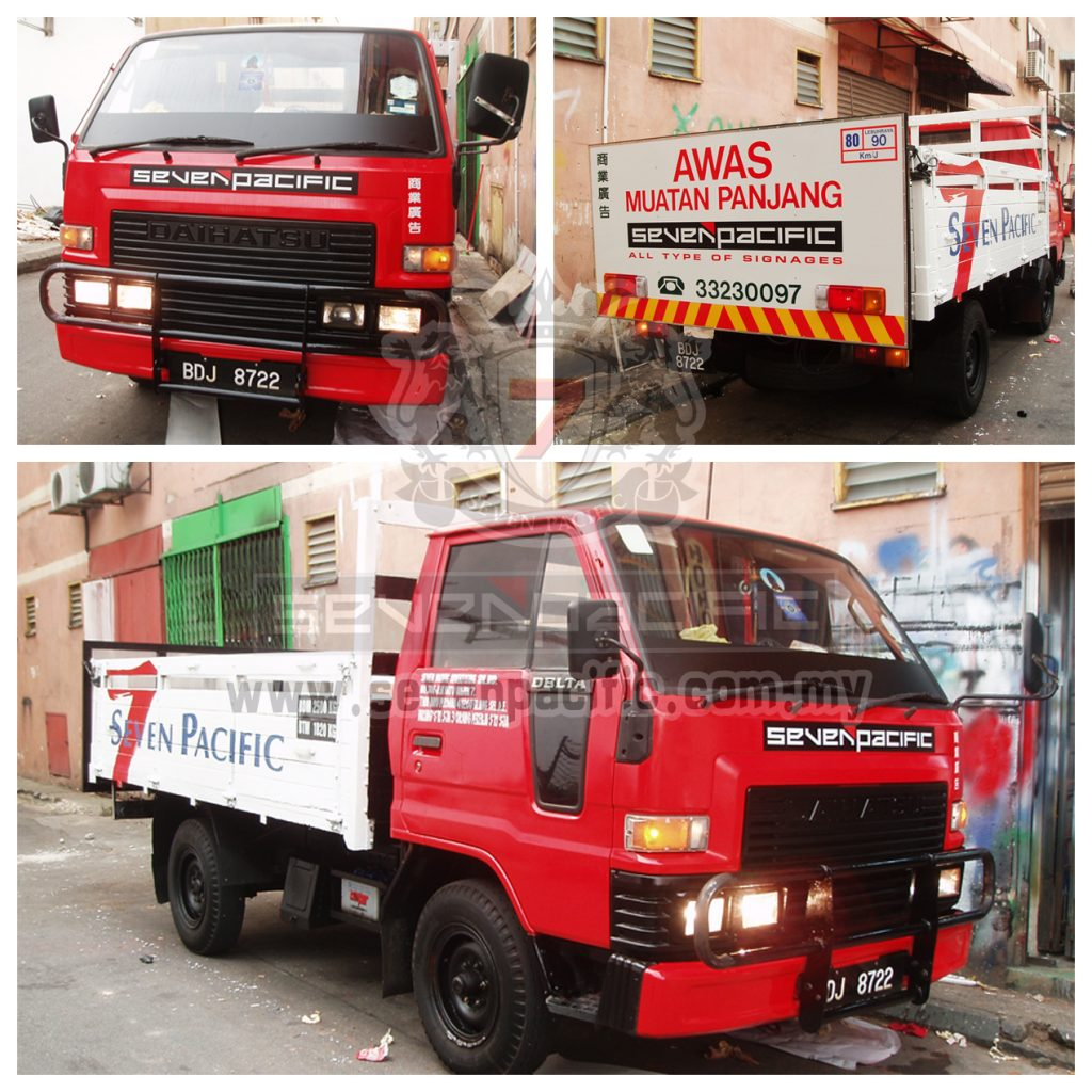 Advertising for Company Lorry