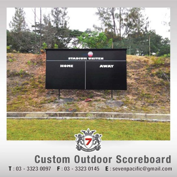 Custom Outdoor Scoreboard