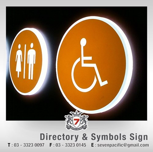 Directory & Symbol Sign