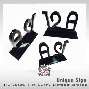 Fully Wrap Metal Sign