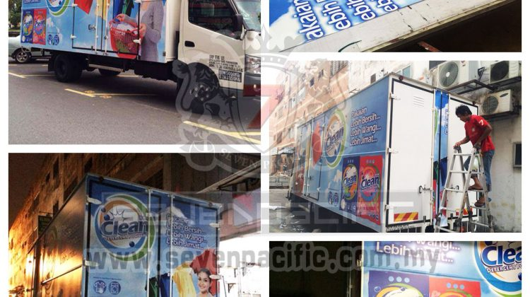 Lorry Vehicle Sticker Prining