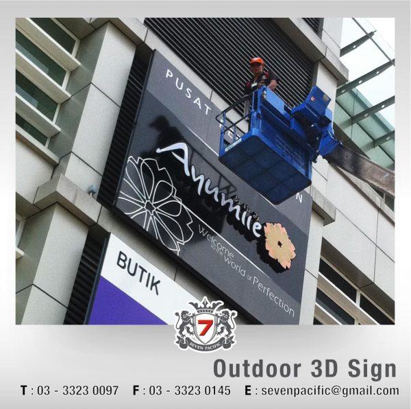 Outdoor 3D Sign