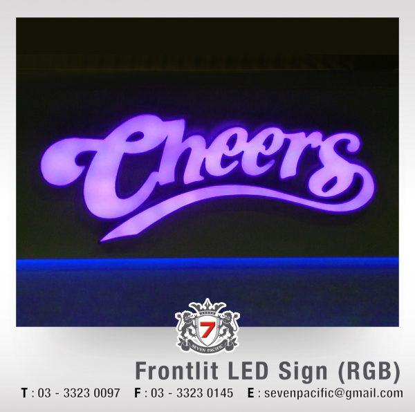 RGB LED Sign