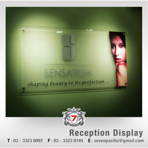 Reception Display