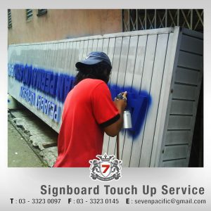 Signboard Touch Up Service
