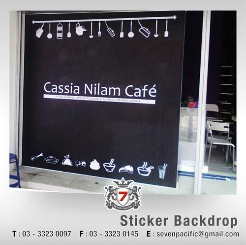 Sticker Backdrop