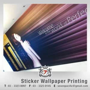 Sticker Wallpaper Printing