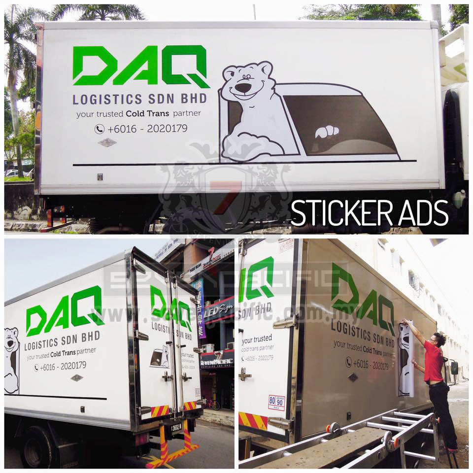 Van Sticker _ Lorry Sticker_ Commercial