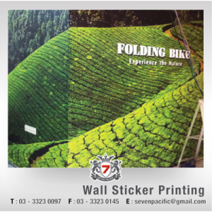 Wall Sticker Printing